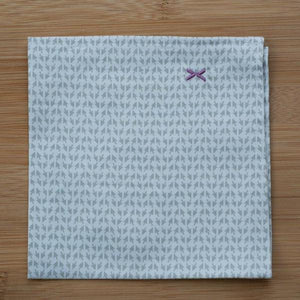 Folded DressCode pocket square, cursor design