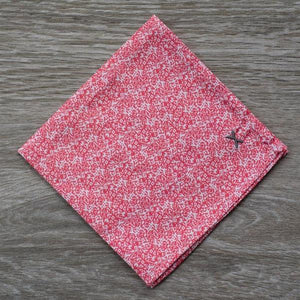 Detail of pixel pocket square from DressCode