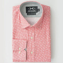Folded DressCode shirt in pixel pattern