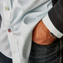 DressCode Cursor with red, white and blue button detail