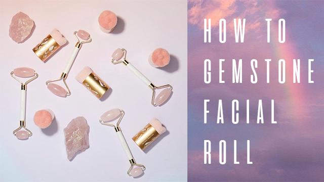 How To: Rose Quartz Facial Roller