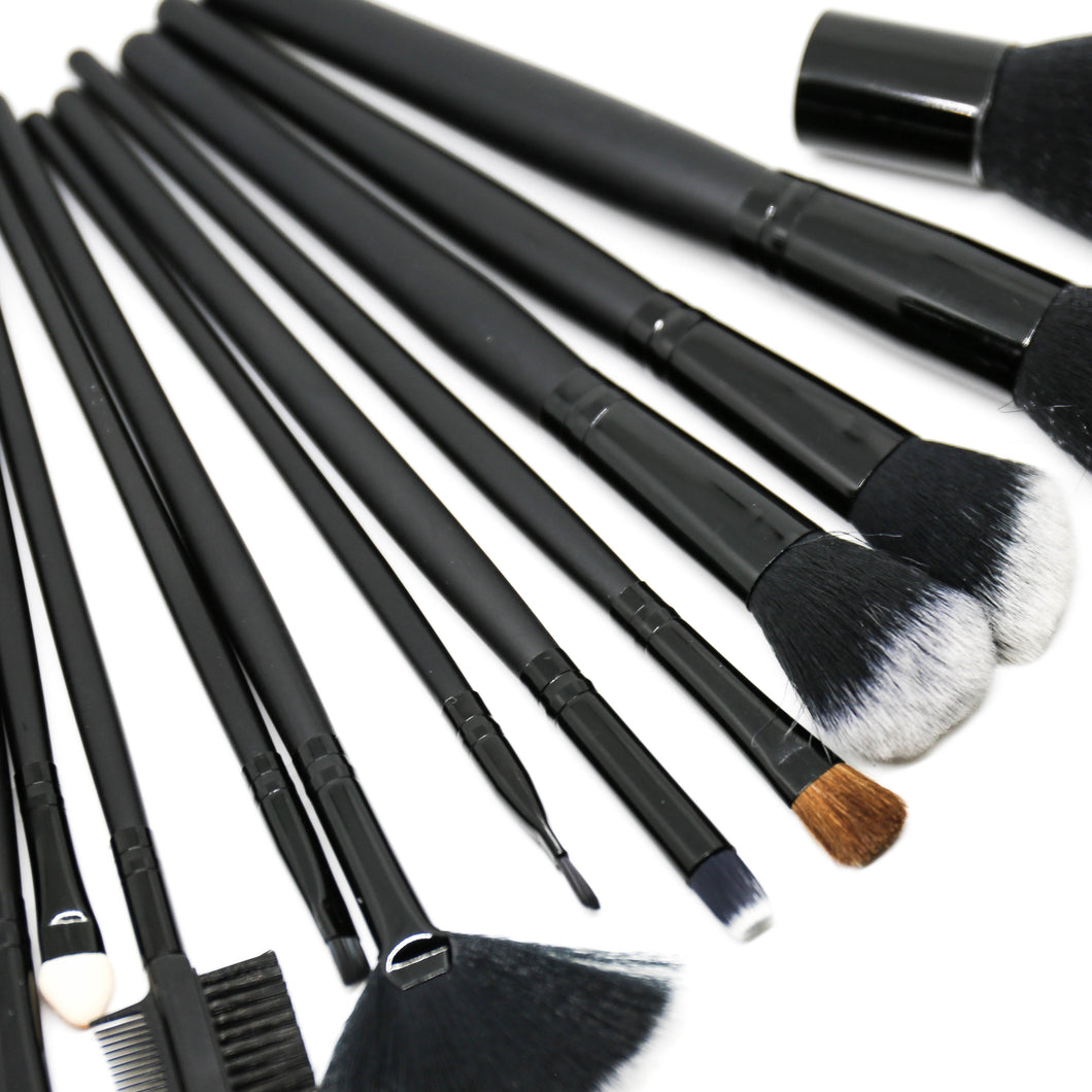 Uhloor 15pc Makeup Brush Set