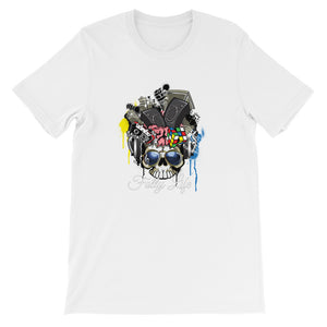 Folly Life Skull Short-Sleeve Unisex T-Shirt