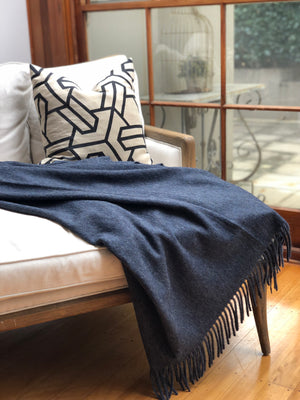 Alpaca woollen Throw