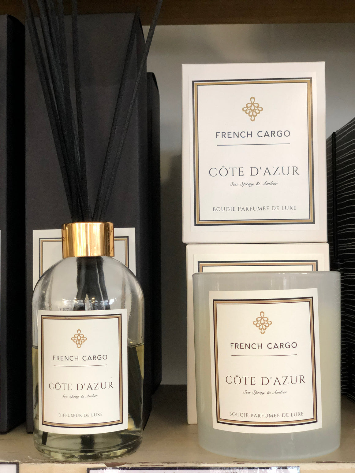 French Cargo Signature Collection Diffuser - Cote D'Azur
