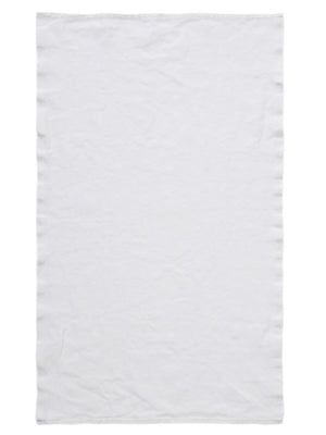 French Linen Tea Towel - Eggshell