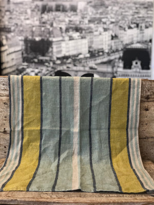 French Linen Tea Towel - Celadon
