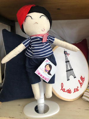 French Handmade Doll