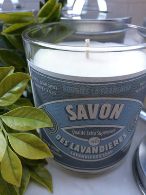French Scented Candle - Lavender Soap