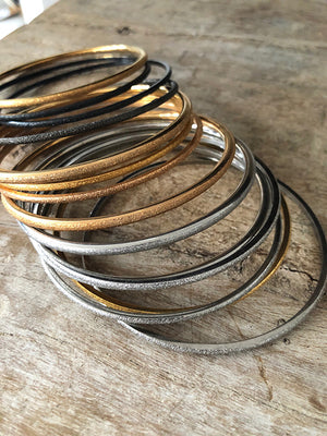 Italian Stainless Steel Bangle - Various
