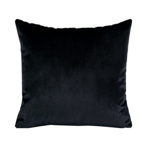 IOSIS French Velvet and Linen Cushion - Graphite