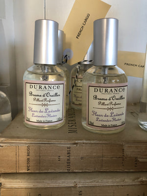 Lavender Pillow Mist by Durance. Provence France