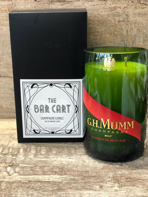GH MUMM Champagne Candle
