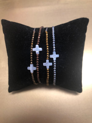 Maria Cross French bracelet