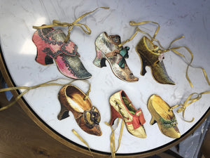 Marie Antoinette's shoes hanging Decoration