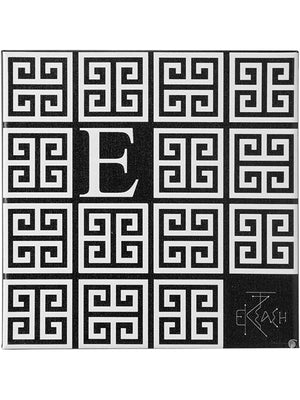"Sophia Thinking Greek letter small ""E  canvas wall art"