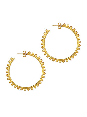 Christina Gold Hoop Earrings