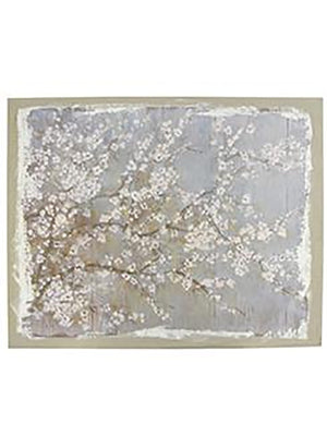 The Blossoms Print on Linen - Wall Art