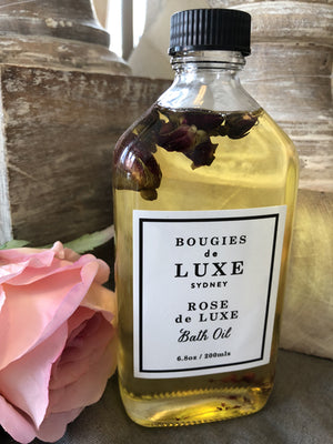 Bougies de Luxe Rose de Luxe Bath Oil