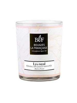 Bougies La Francaise Lys Royal Lily French Candle