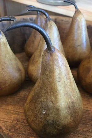 Brown Marble Pear