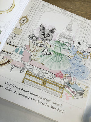 Claris the Chicest Mouse In Paris, Bonjour Riviera by Megan Hess