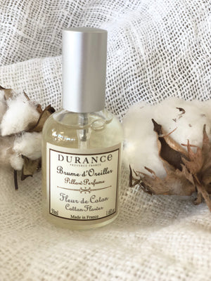Cotton Flower Pillow Mist by Durance Provence France
