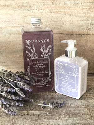 Liquid Marseille Soap with Lavender Essential Oil 750ml by Durance Provence France