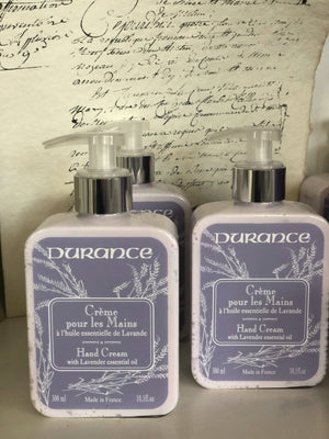 Hand Cream with Lavender Essential Oil Durance Provence France
