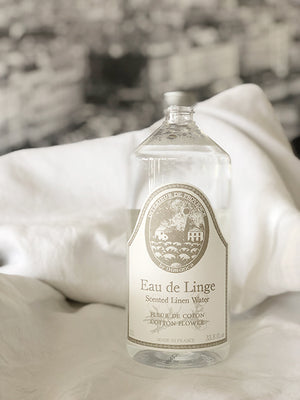 Durance Scented Linen Water with Cotton Flower 1L