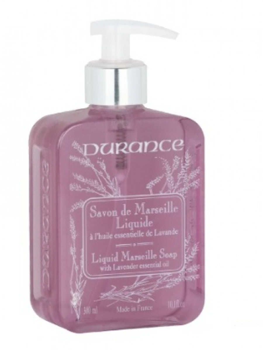Liquid Marseille Soap with Lavender Essential Oil 300ml by Durance Provence France