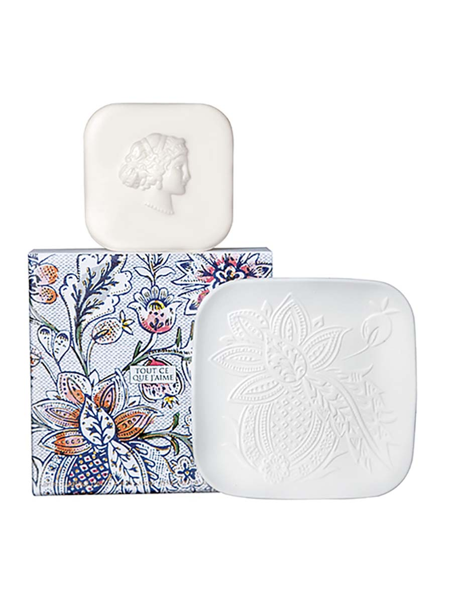 Fragonard Mon Immortelle Soap & Dish