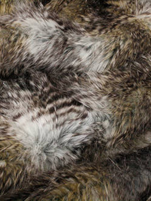Golden Pheasant Luxury Faux Fur Throw