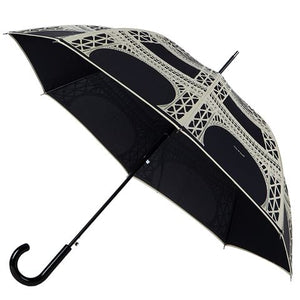 Eiffel French Umbrella by Guy de Jean (Black)