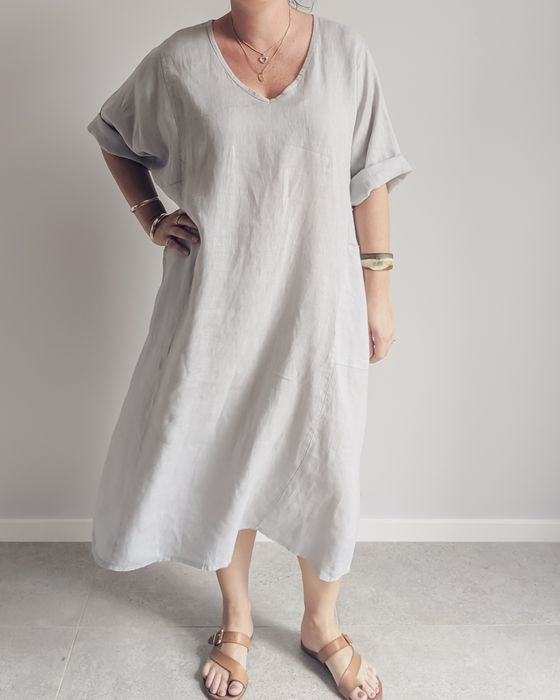 Costa Vita Purolino Hollie Linen Dress