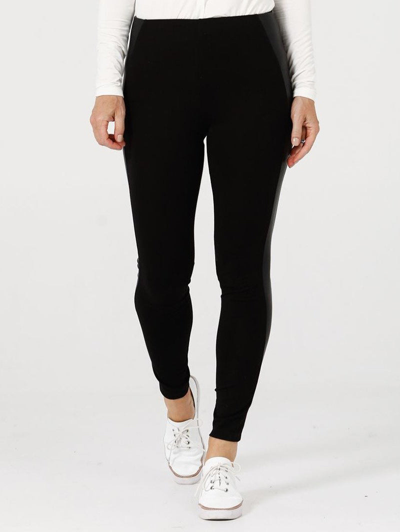 Brave+True Jetsetter Black Leggings