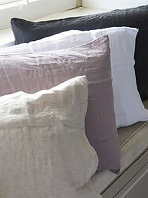 Linen Pillow Case - Natural