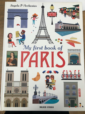 My First Book of Paris by Ingela P Arrhenius