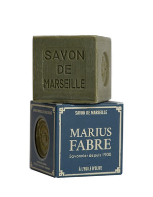 French Olive Oil Soap - Savon de Marseille by Marius Fabre - 400g boxed