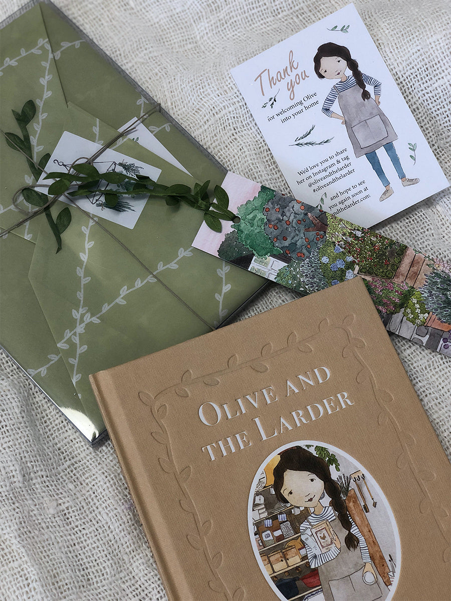 Olive & The Larder: An All-Ages Storybook by Bianca Tzatzagos