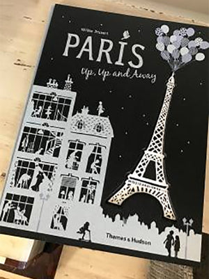 Paris Up, Up and Away Book by Helene Druvert