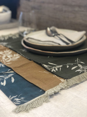 Reversible Cotton Placemats (Set of 4) - Various