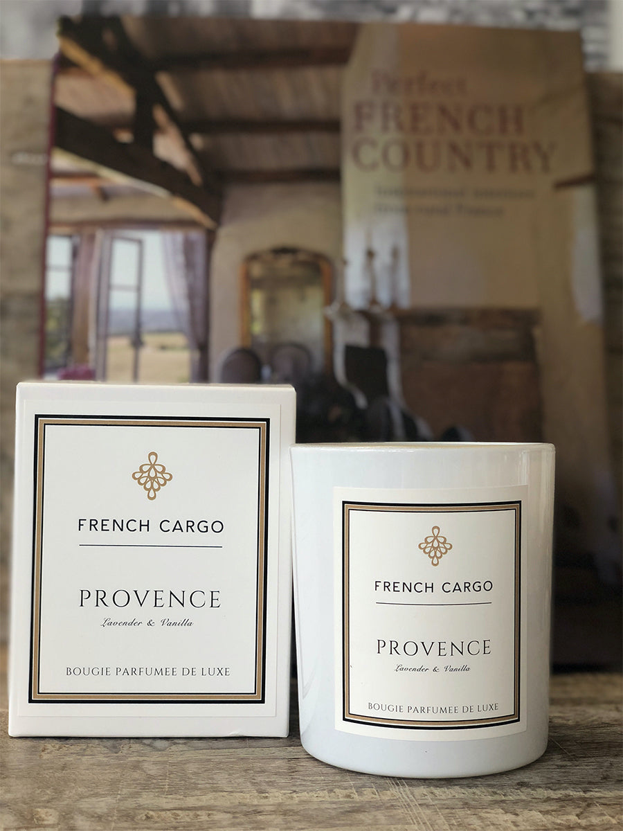 French Cargo Signature Collection Candle - Provence