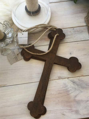 Rustic Metal Cross