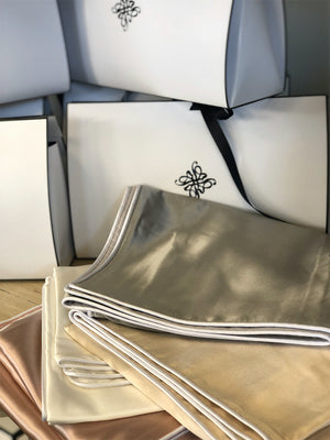 100% Mulberry Silk Pillowcase - Various