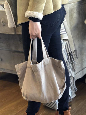 Small Linen Tote (Natural)