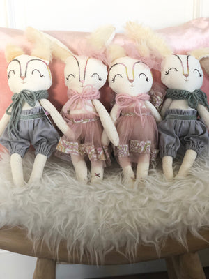 Topy Winter Pink Fox Doll by La Maison de Poupee