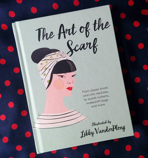 Art of the Scarf book by Libby Vander Ploeg