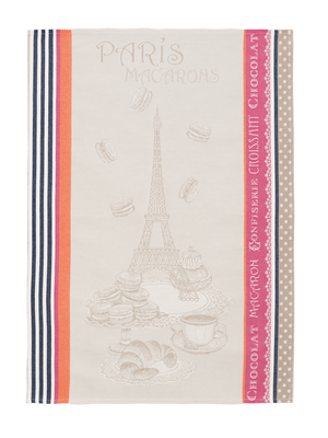 Macarons Jacquard French Cotton Tea Towel