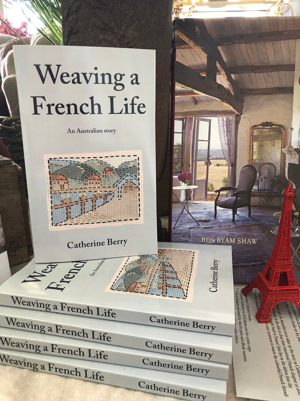 Weaving a French Life book by Catherine Berry